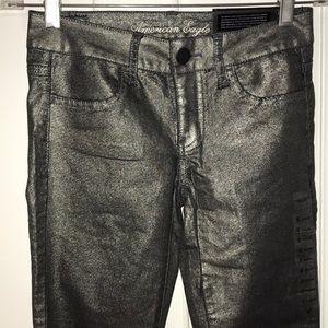 NWT American Eagle sz 0 stretch super skinny pants